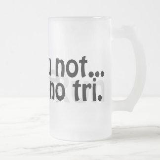 Tall Frosted Duathlon Mug