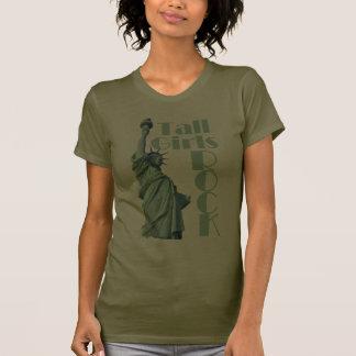 Tall Girls ROCK Dark Tee Shirt