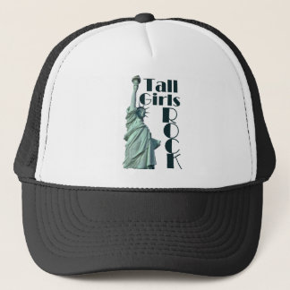 Tall Girls ROCK Trucker Hat