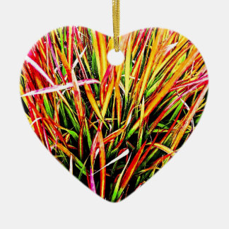 Tall-Grass Colors Christmas Tree Ornament