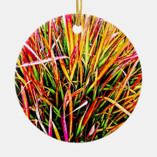 Tall-Grass Colors Christmas Ornaments