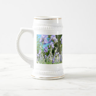 Tall Lavender Freesia Mug