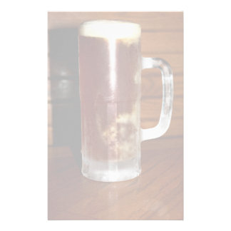 Tall Mug of Beer Stationery