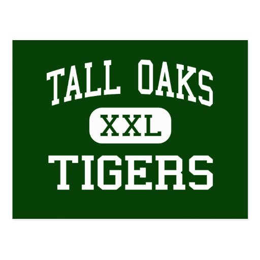 Tall Oaks - Tigers - Vocational - Bowie Maryland Postcard