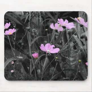 Tall Pink Poppies Mouse Mat
