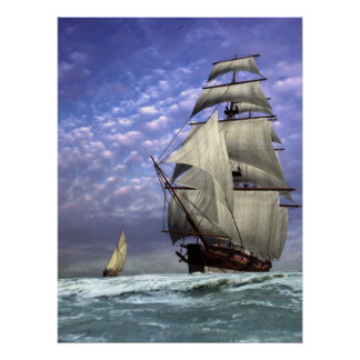 Tall Ship and Ketch Posters