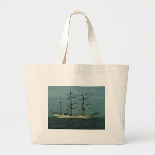 Tall Ship Artemis Tote Bags