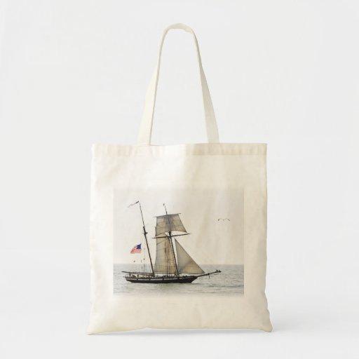 Tall Ship Canvas Bags