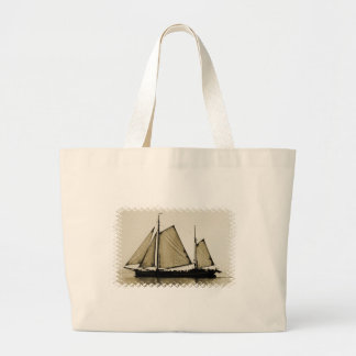Tall Ship Canvas Bag