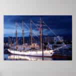 Tall Ship Esmeralda Poster