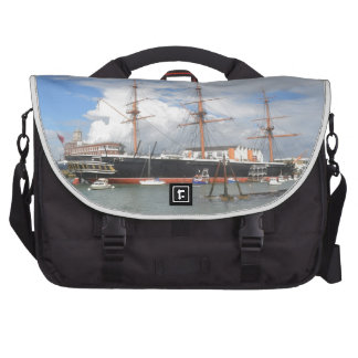 Tall Ship HMS Warrior Bags For Laptop