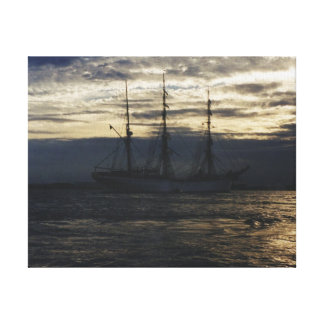 Tall Ship in the Humber Canvas Print