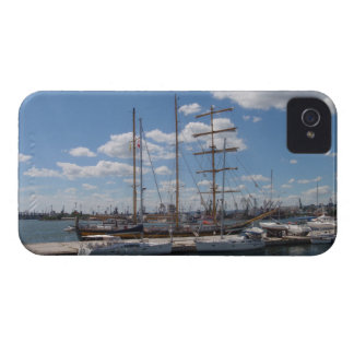 Tall Ship In The Port Of  Varna Case-Mate iPhone 4 Case