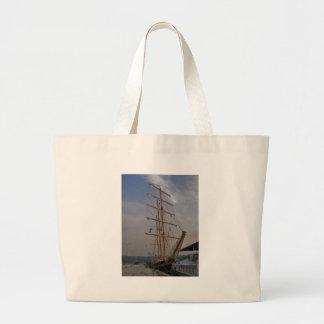 Tall Ship In Varna Canvas Bag