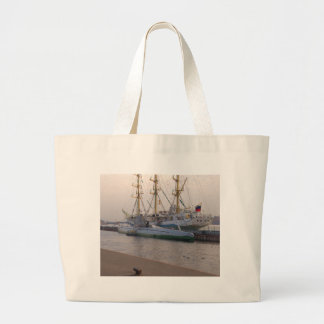 Tall Ship Mir And Submarine Bags