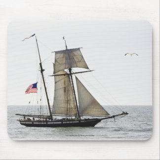 Tall ship mousepad