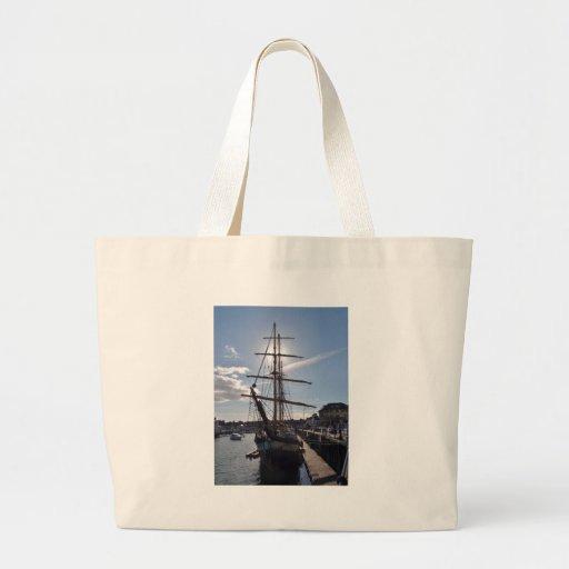 Tall Ship Pelican Of London Canvas Bag