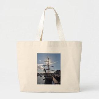 Tall Ship Pelican Of London Jumbo Tote Bag