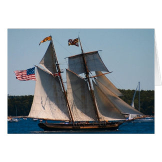 Tall Ship Pride of Baltimore Card