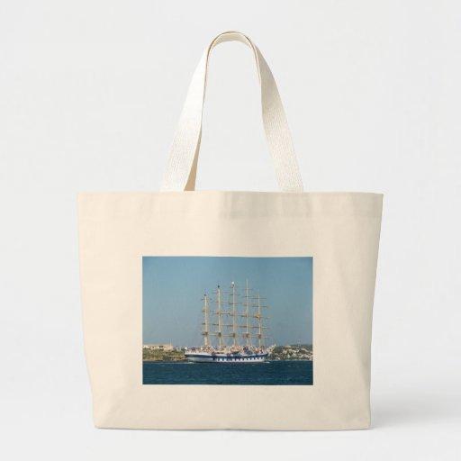 Tall Ship Royal Clipper Canvas Bags