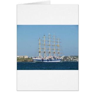 Tall Ship Royal Clipper Greeting Card