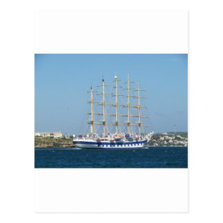 Tall Ship Royal Clipper Postcard