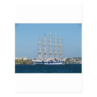Tall Ship Royal Clipper Post Card