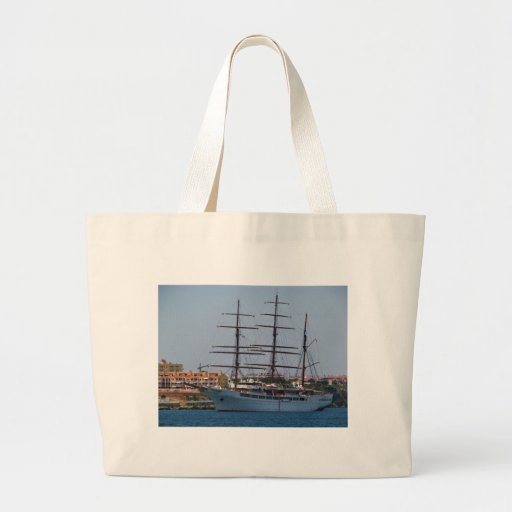 Tall Ship Sea Cloud II Canvas Bag
