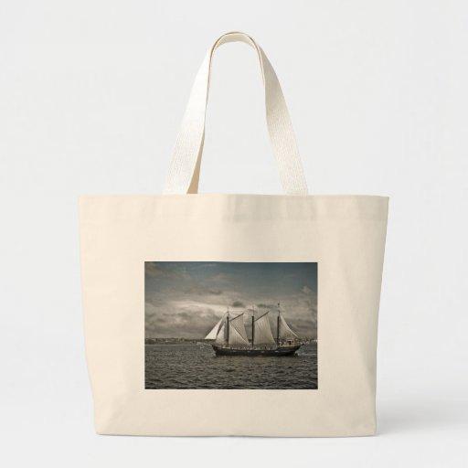 Tall Ship Silva Halifax Canvas Bags