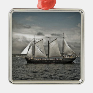 Tall Ship Silva Halifax Christmas Ornament