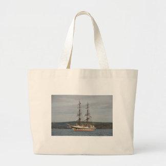 Tall ship Stavros S Niarchos. Tote Bags