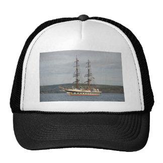 Tall ship Stavros S Niarchos. Cap