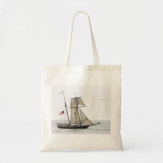 Tall Ship Budget Tote Bag