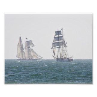 Tall Ships Californian and Lynx Photo Print