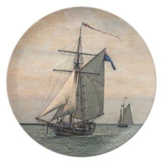 Tall Ships Festival, Digitally Altered Plate