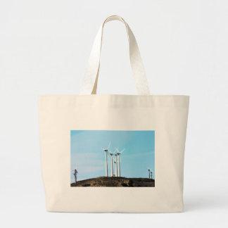 Tall Turbines Canvas Bags