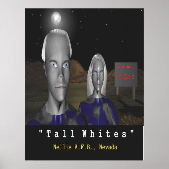 TALL Whites Poster