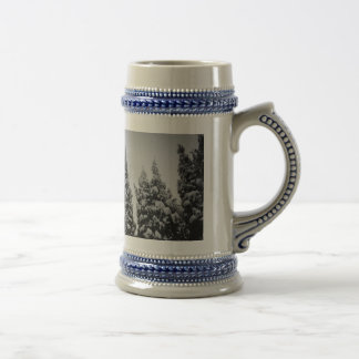 Tall Winter Coffee Mug