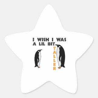 Taller Penguin Star Stickers