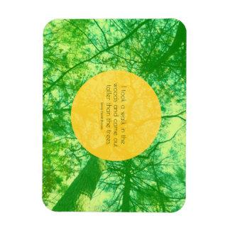 Taller then the Trees Rectangular Photo Magnet