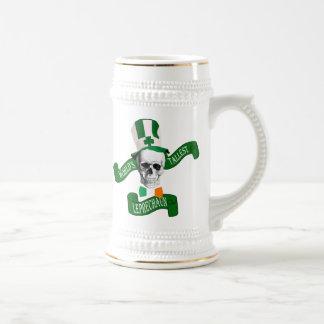Tallest leprechaun Irish Beer Stein