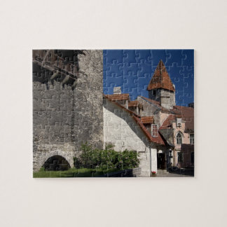 Tallin, Estonia. Tallin is somewhat of an Jigsaw Puzzle