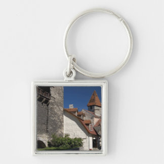 Tallin, Estonia. Tallin is somewhat of an Silver-Colored Square Key Ring
