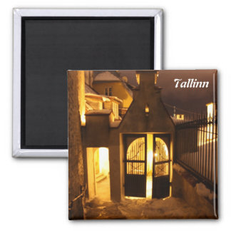 Tallinn Aglow in Winter- Magnet