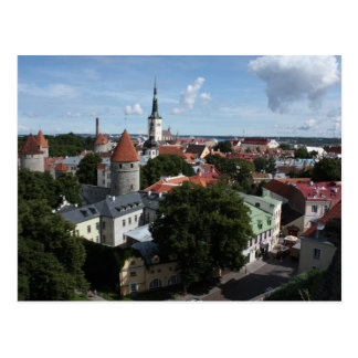 Tallinn, Estonia Postcard