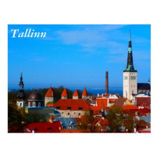 Tallinn, Estonia Postcard