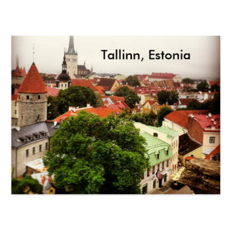 Tallinn, Estonia - Postcard