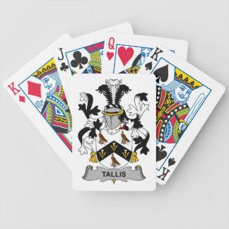 Tallis Family Crest Card Deck