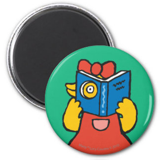 Tallulah Makes a Funny Face 6 Cm Round Magnet