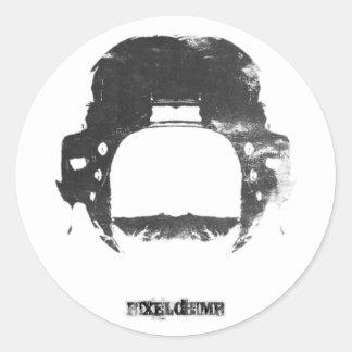 Tally Ho Classic Round Sticker
